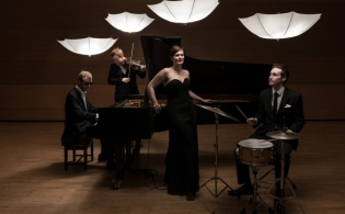 Paravicini Quartet photo shoot